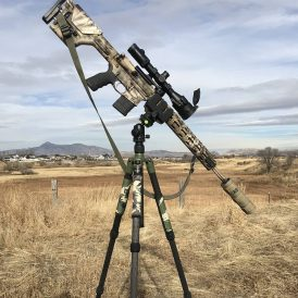 Night Stalker Shooting Tripod & Ball-Head