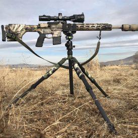 "Night Stalker Shooting Platform With Kopfjager ""Reaper Grip"" Rest"