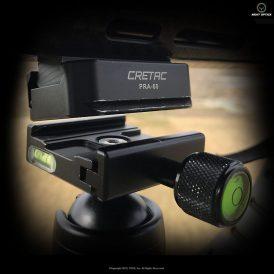 CRETAC Picatinny Rail To Arca-Swiss Adapter For Night Stalker Tripods