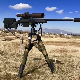 Night Stalker PRO Shooting Tripod & Ball-Head