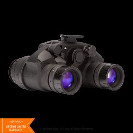 NGI/DTNVG-XLS Gen. 3 Thin-Filmed White Phosphor Dual Tube NVG (Elbit USA Tube)
