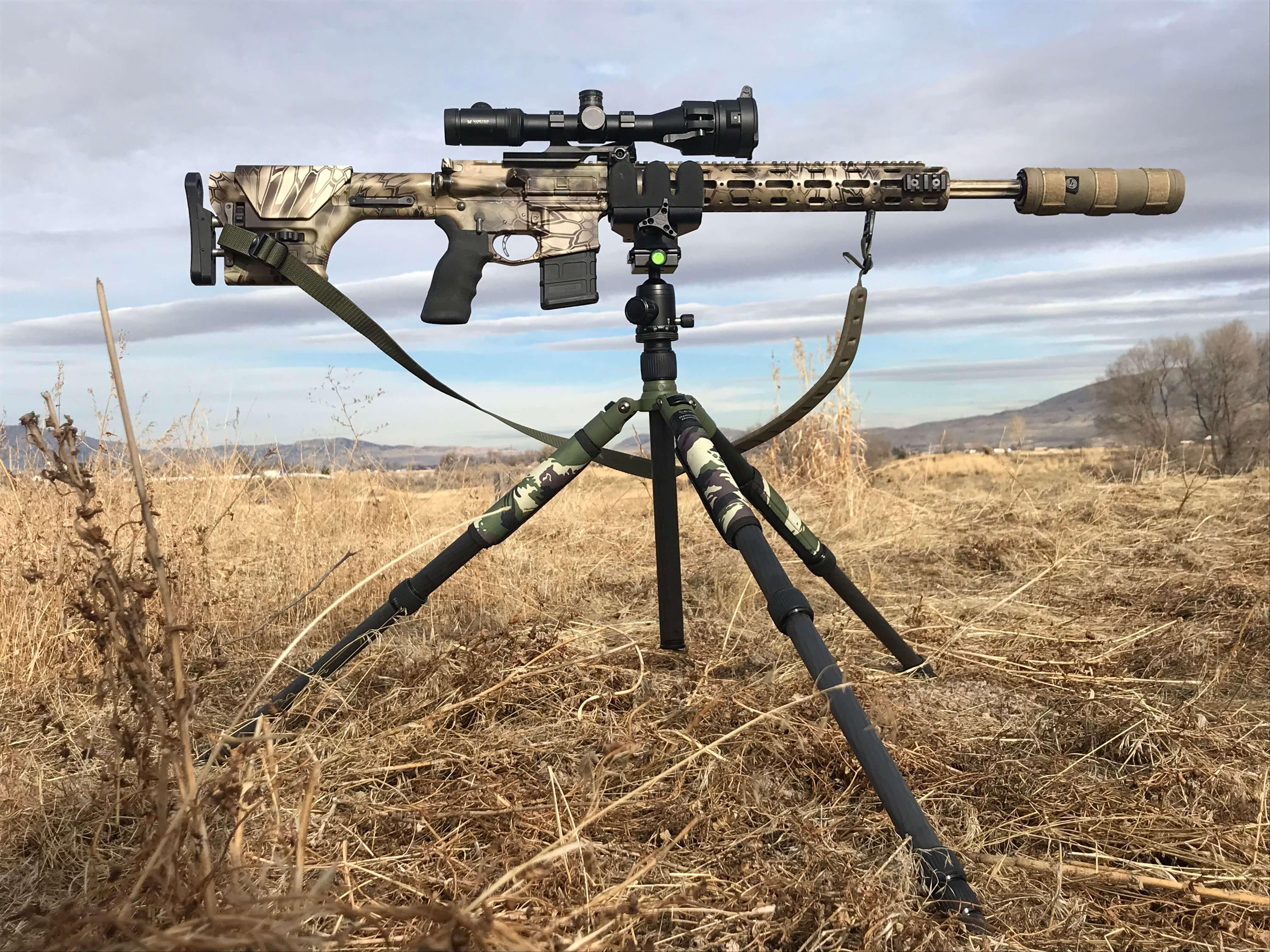 Night Stalker Shooting Platform with Shadow Tech