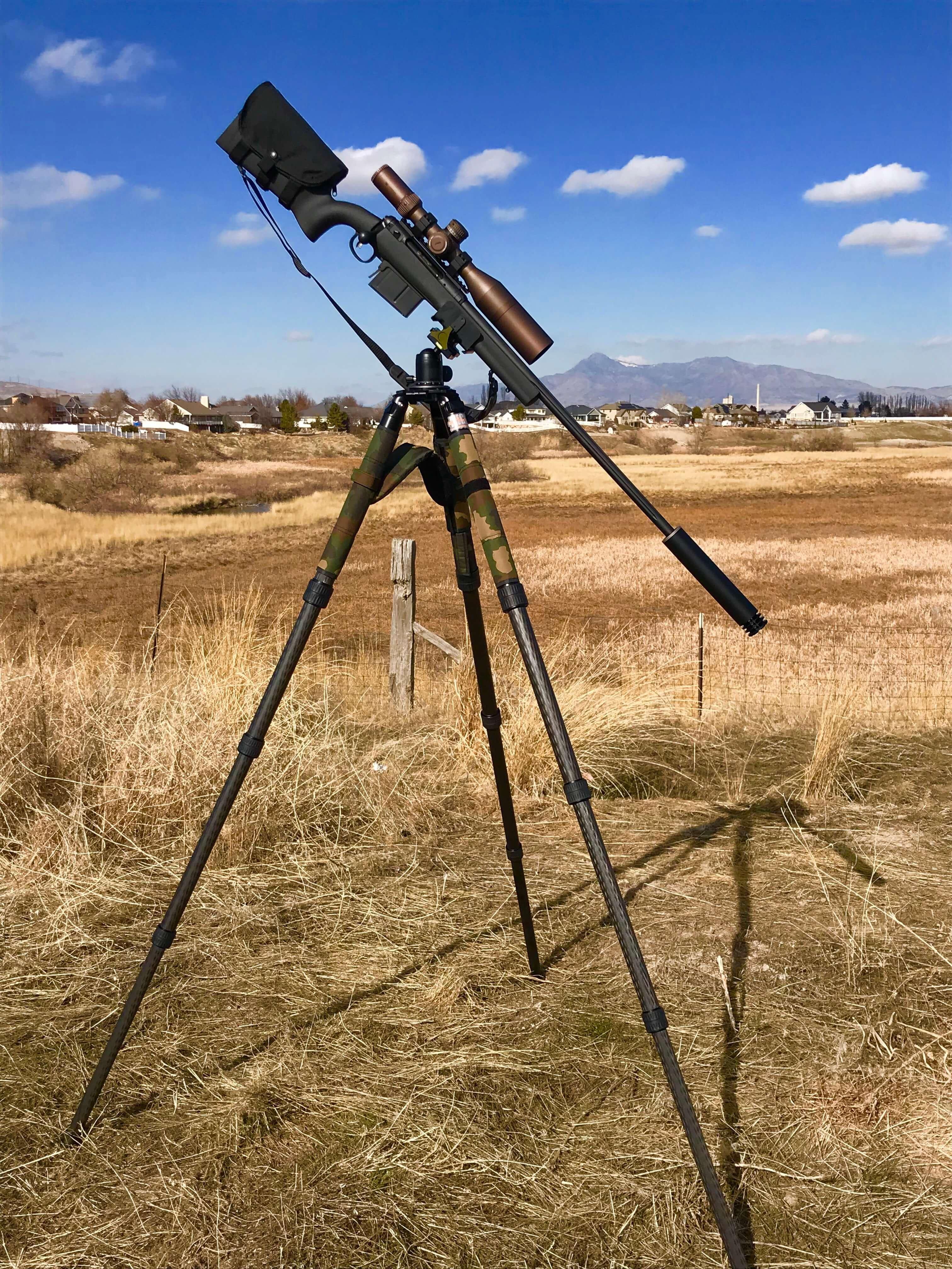 Night Stalker PRO Shooting Tripod & Ball-Head - Night Goggles